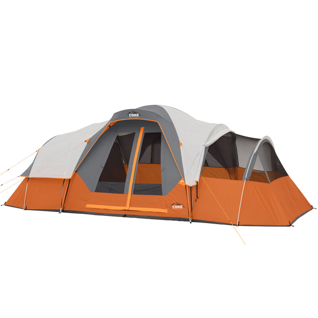 11 Person Extended Dome Tent 18' x 9'
