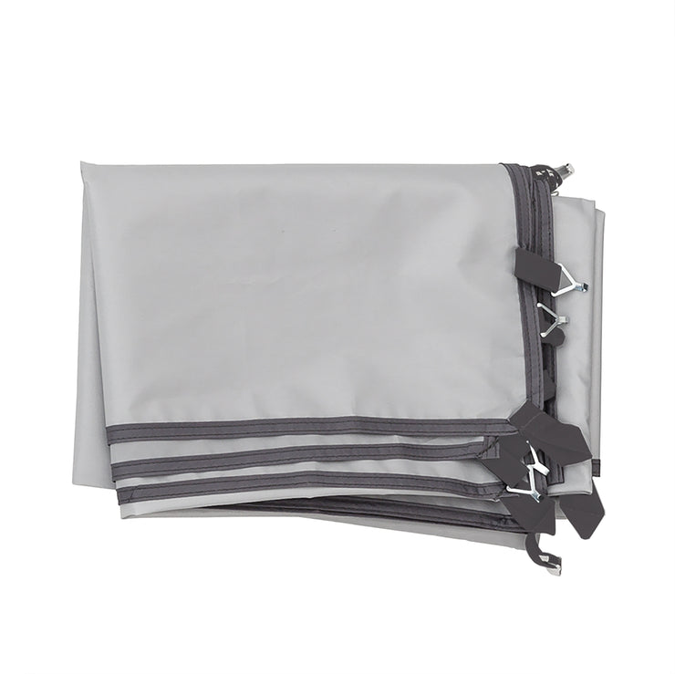 Image of Sun Wall Accessory folded for compact convenience
