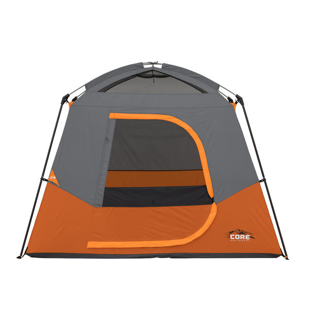 4 Person Straight Wall Cabin Tent