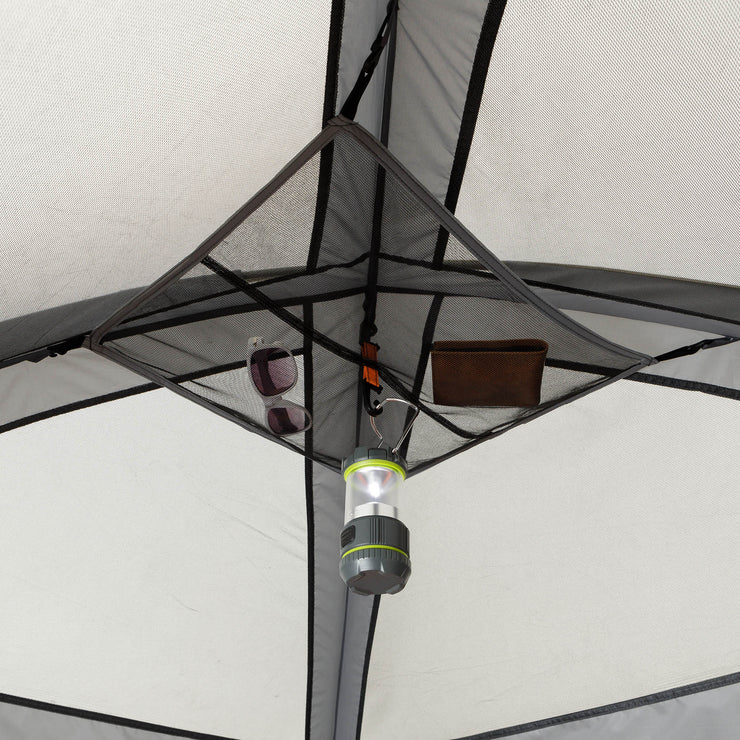 Gear loft with lantern hook
