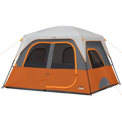Hero image of 6 person straight wall cabin tent