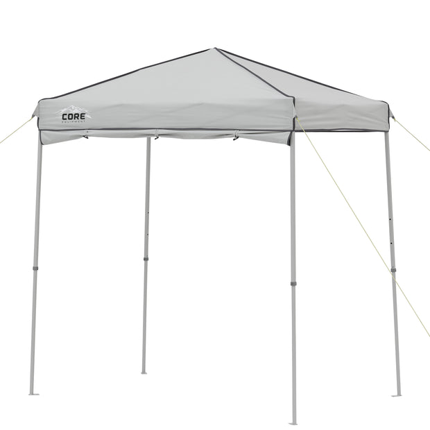 6' x 4' Instant Canopy with Half Sun Wall