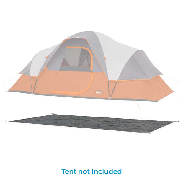 Footprint for 9 Person Extended Dome Tent