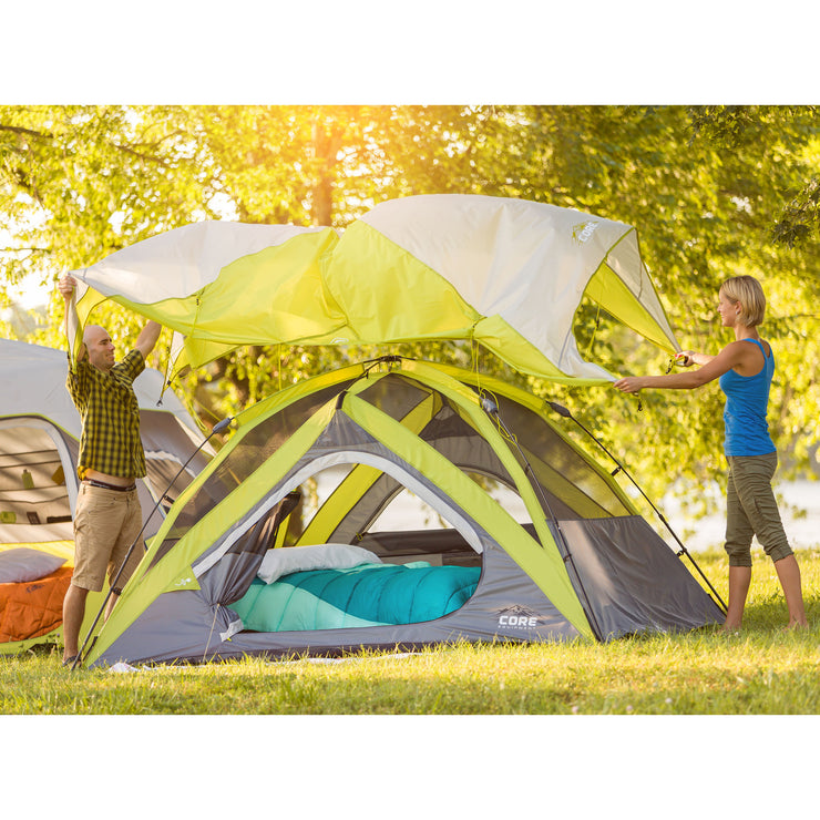 Core Equipment 4 Person Dome Tent Lifestyle