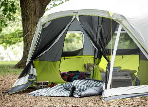 10 Person Instant Tent with Screen Room