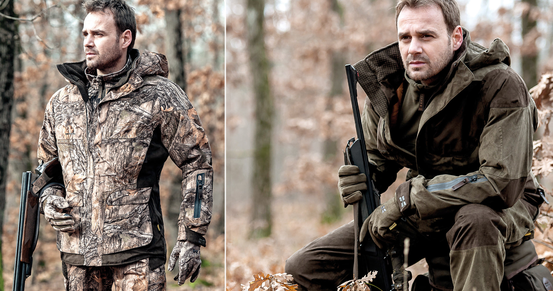 hunter wear xpr hunting coat in solit and camouflage