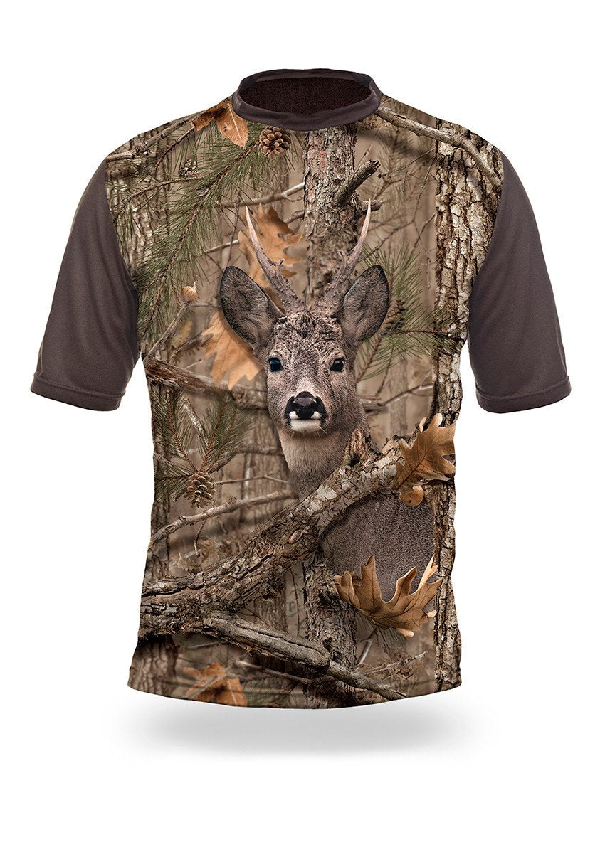 Roe Deer 3D T-Shirt - Short Sleeve