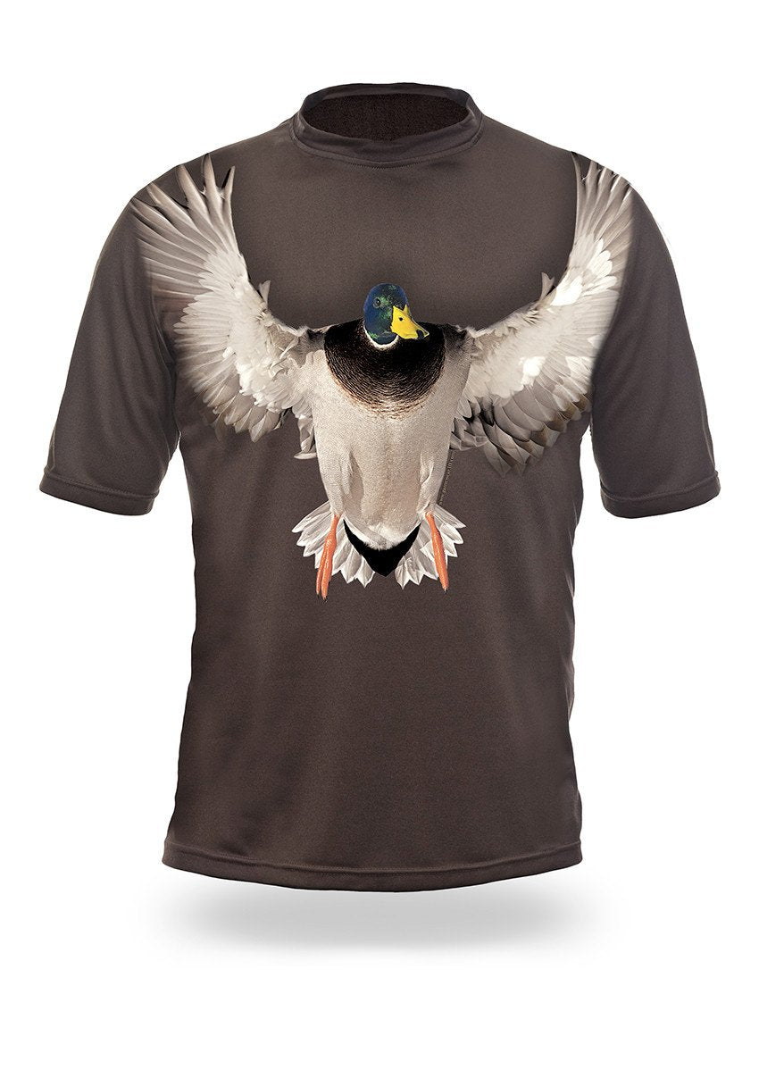Shirts-Mallard 3D T-Shirt Short Sleeve - 1006-Hillman-Hunting-Shop