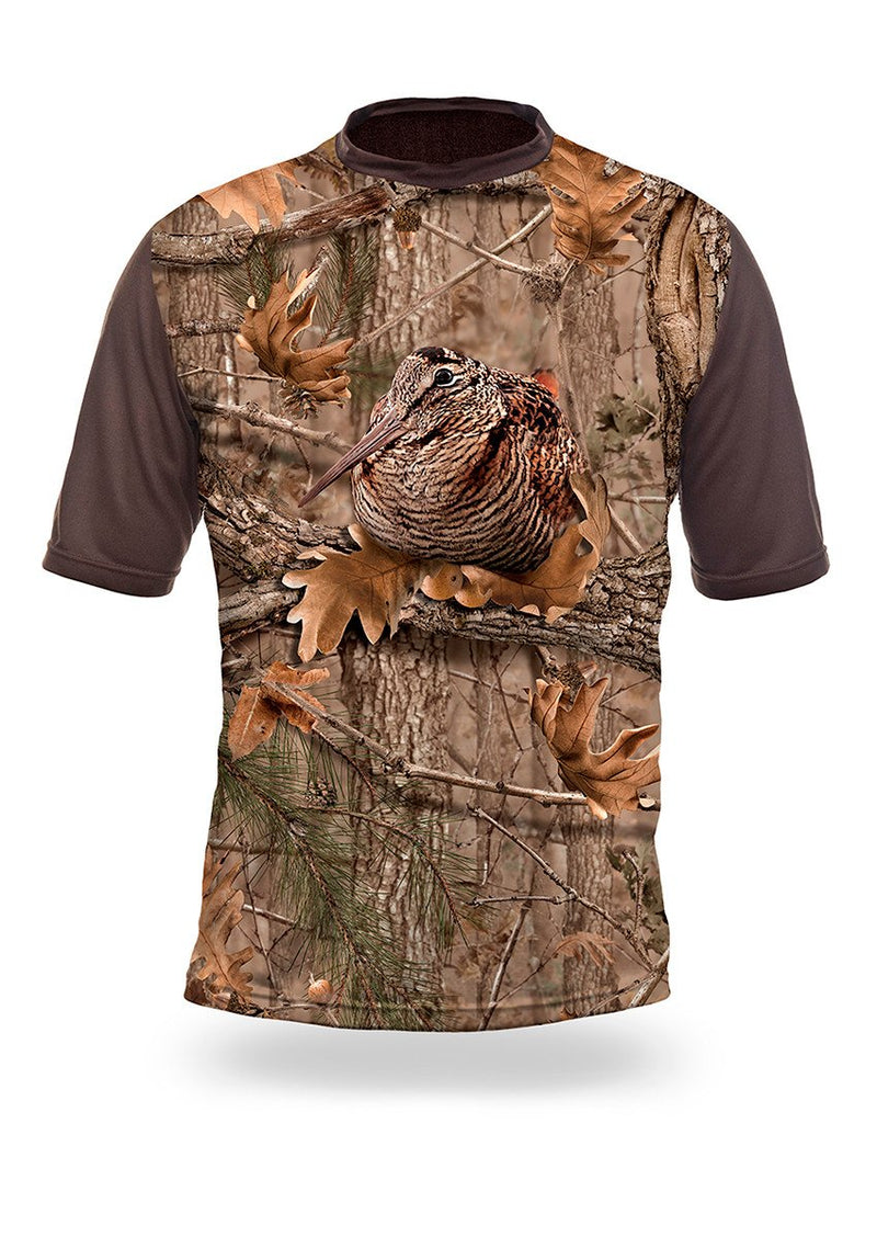 Shirts-Woodcock 3D T-Shirt Short Sleeve - 1008-Hillman-Hunting-Shop