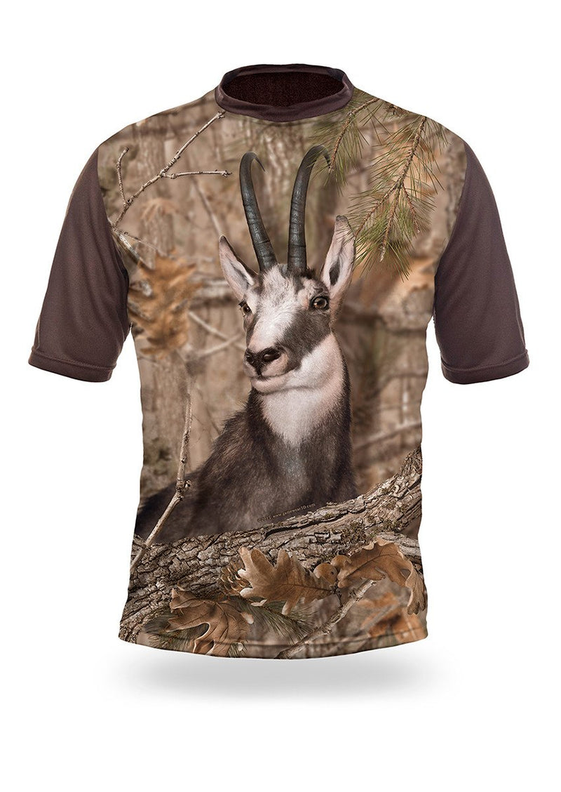 Shirts-Chamois 3D T-Shirt Short Sleeve - 1010-Hillman-Hunting-Shop