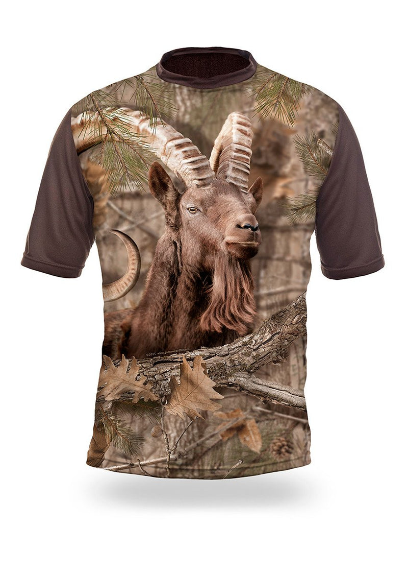 Shirts-Ibex 3D T-Shirt Short Sleeve - 1011-Hillman-Hunting-Shop