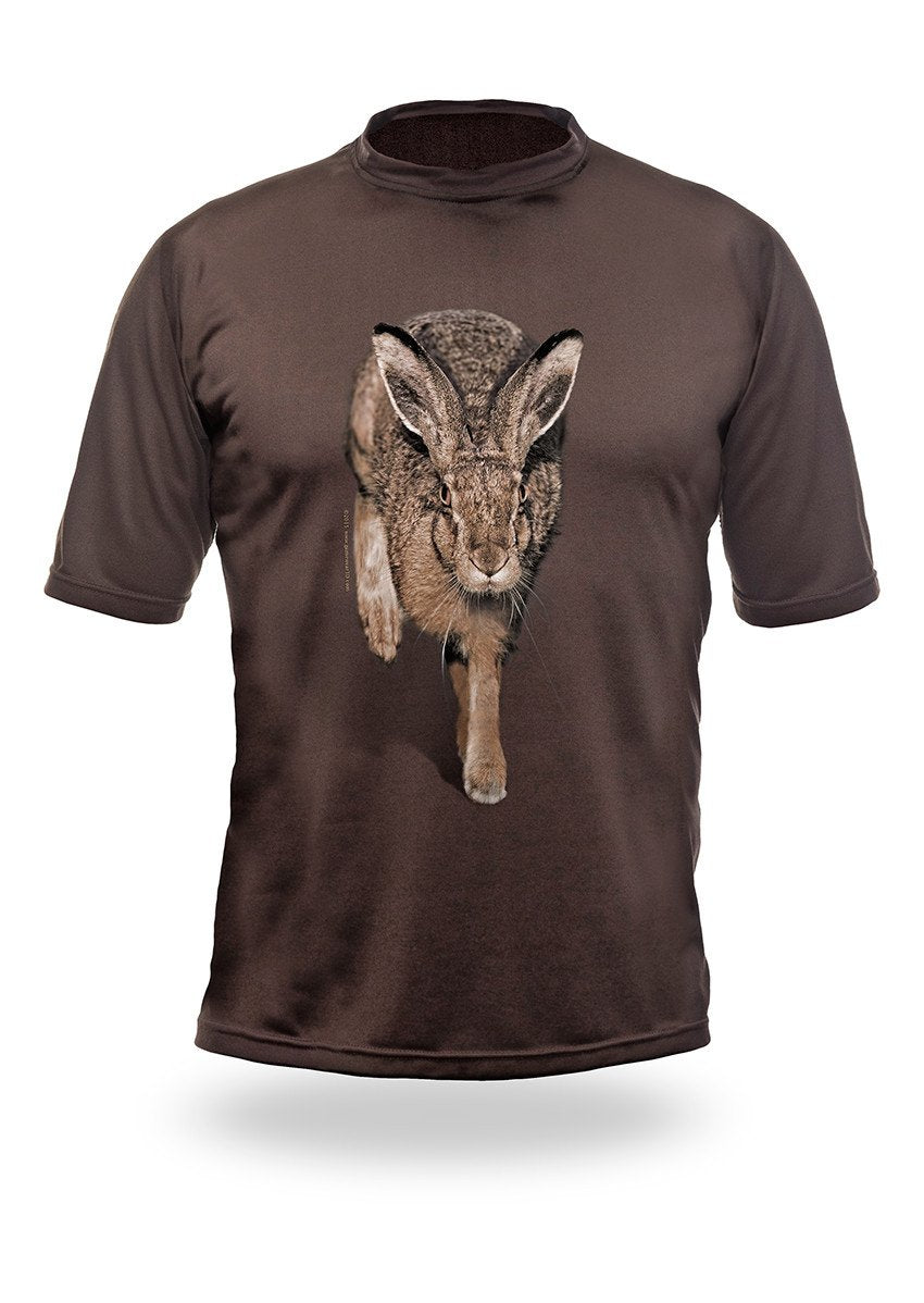 Shirts-Hare 3D T-Shirt Short Sleeve - 1013-Hillman-Hunting-Shop