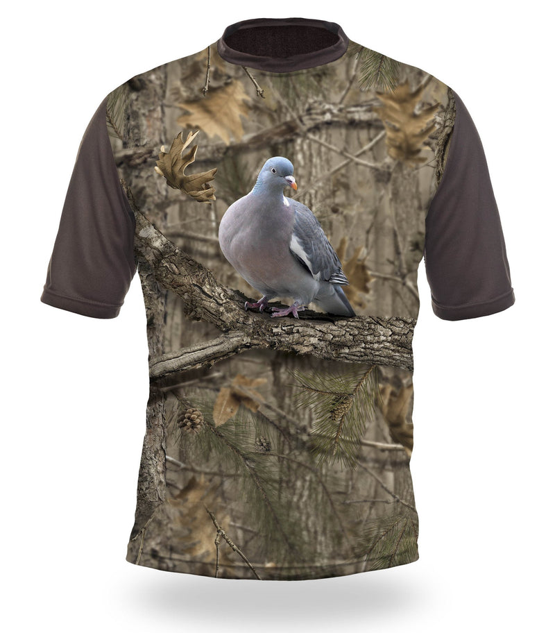 Shirts-Pigeon 3D T-Shirt Short Sleeve - 1017-Hillman-Hunting-Shop