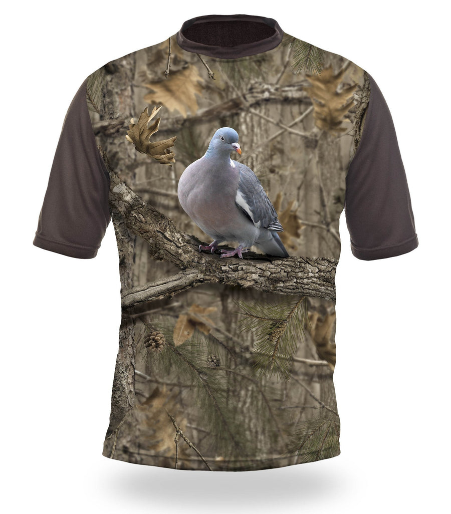Pigeon 3D T-Shirt - Short Sleeve