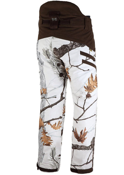Mens Snow Camouflage Bolt Hunting Pants - Winter Hunting Waterproof Clothing HILLMAN®