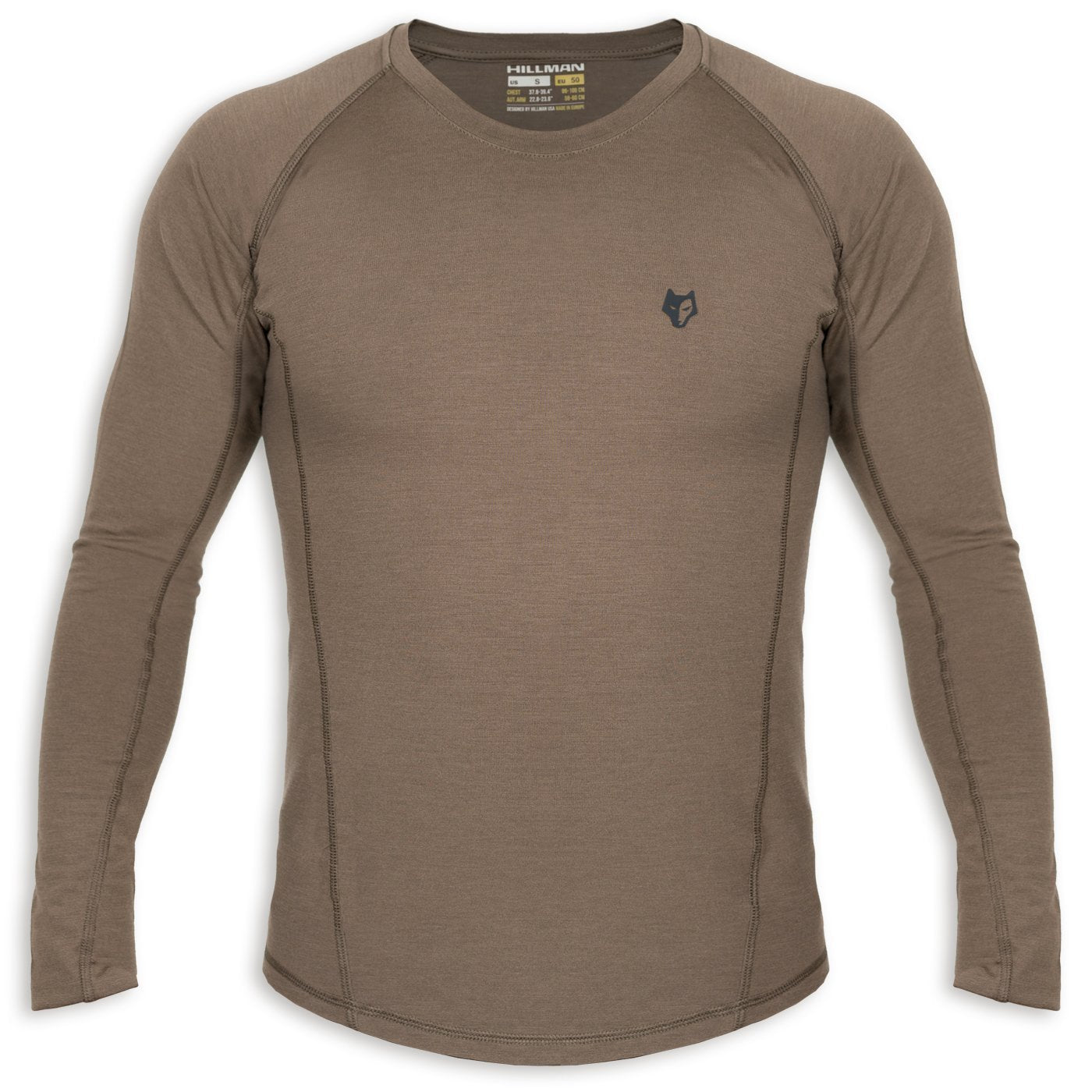[16μm-160g] MERINO HUNTING T-SHIRT LONG SLEEVE [ 1 ]