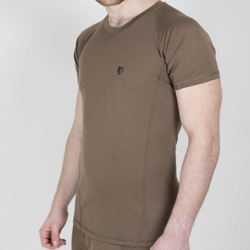 [16μm-160g] MERINO HUNTING T-SHIRT SHORT SLEEVE [ 1 ]
