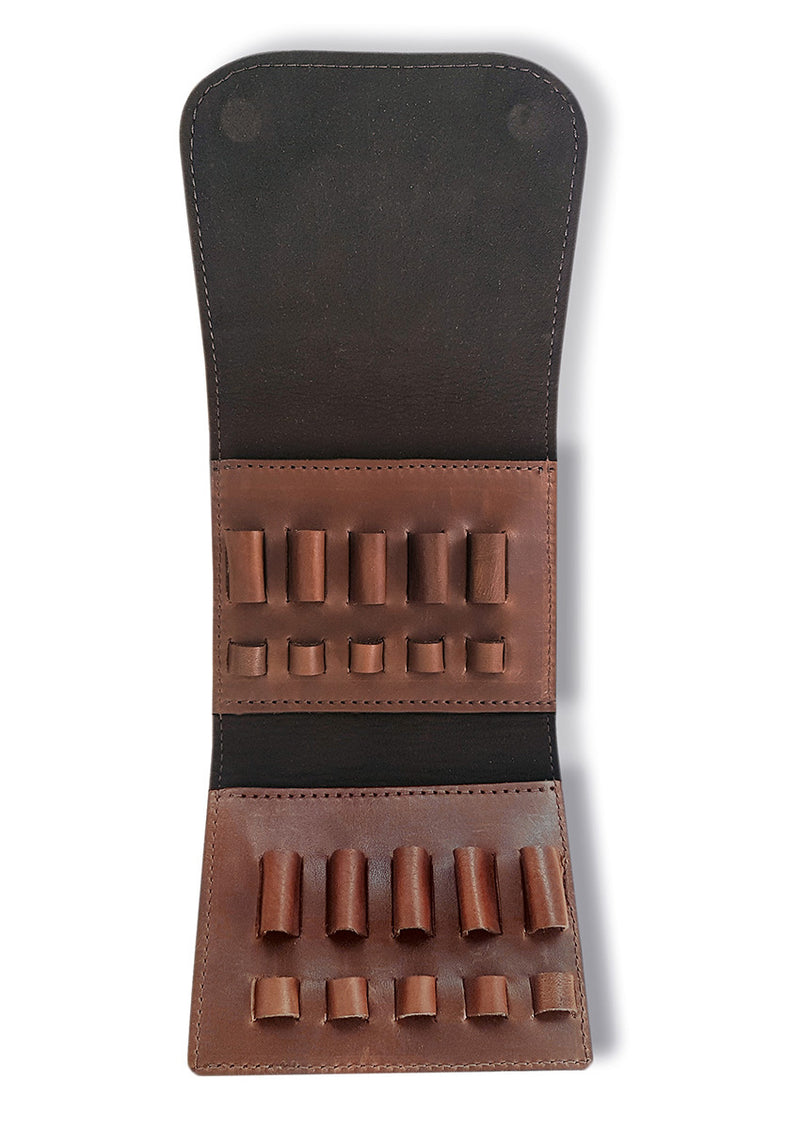 Rifle Pouch 10 Rounds Expandable | Leather