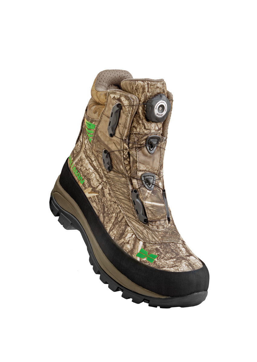 24473b3ca1d Novel Camo Hunting Boots