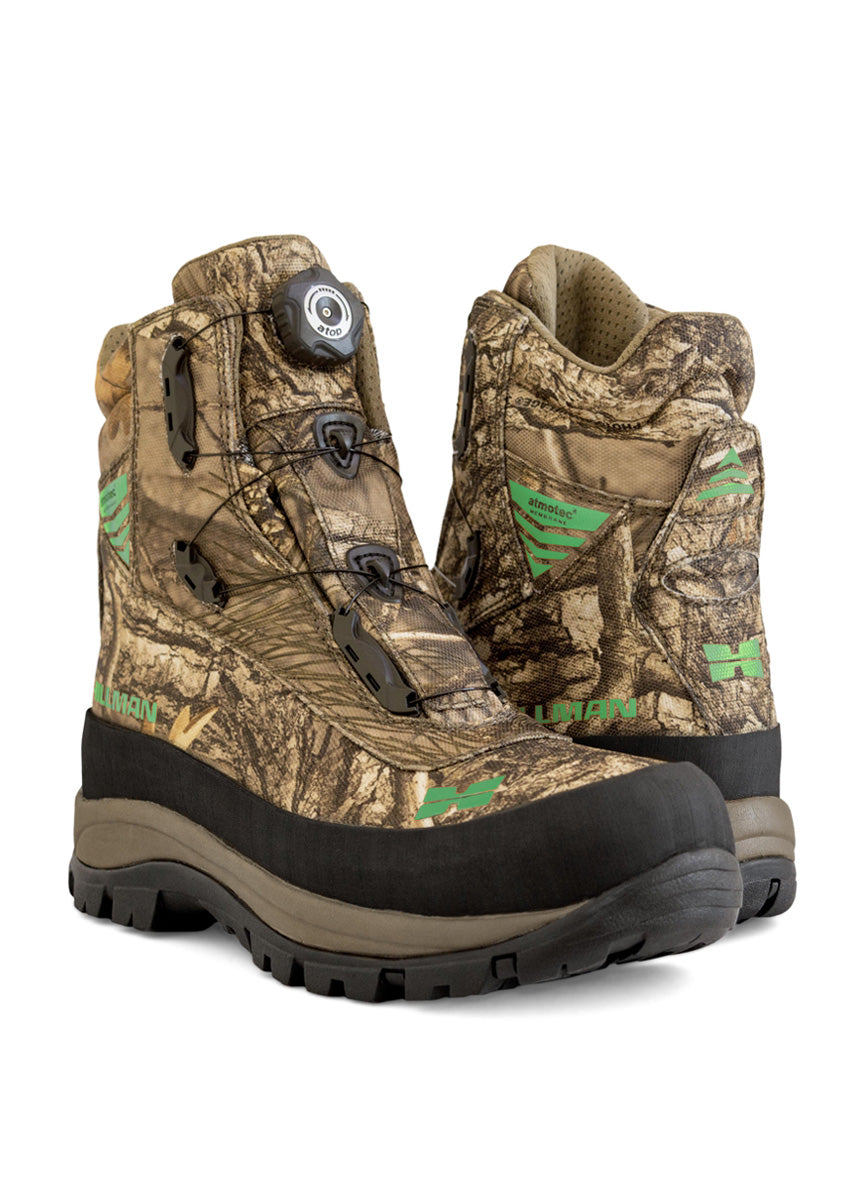 Camouflage Novel Hunting Boots - Mens Hunting Clothing by Hillman®