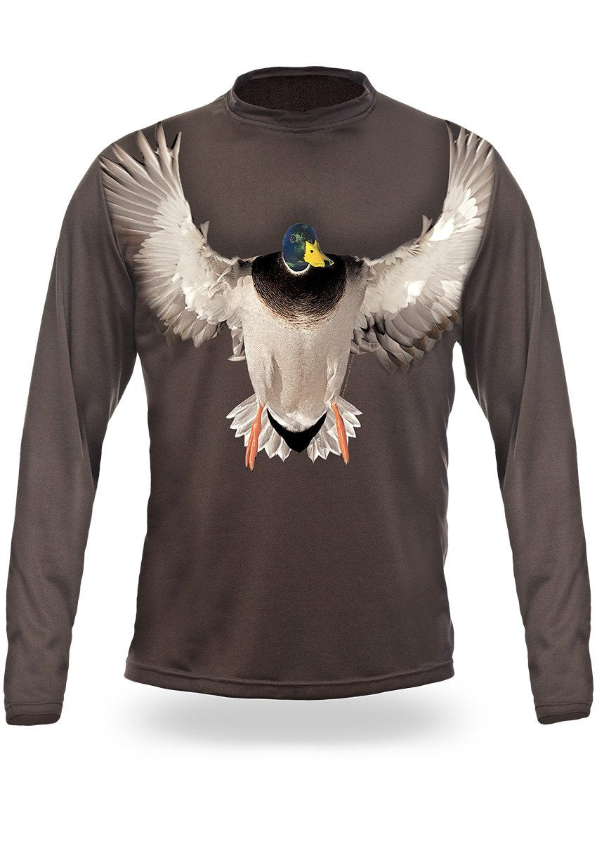 Shirts-Mallard 3D T-Shirt Long Sleeve - 3006-Hillman-Hunting-Shop