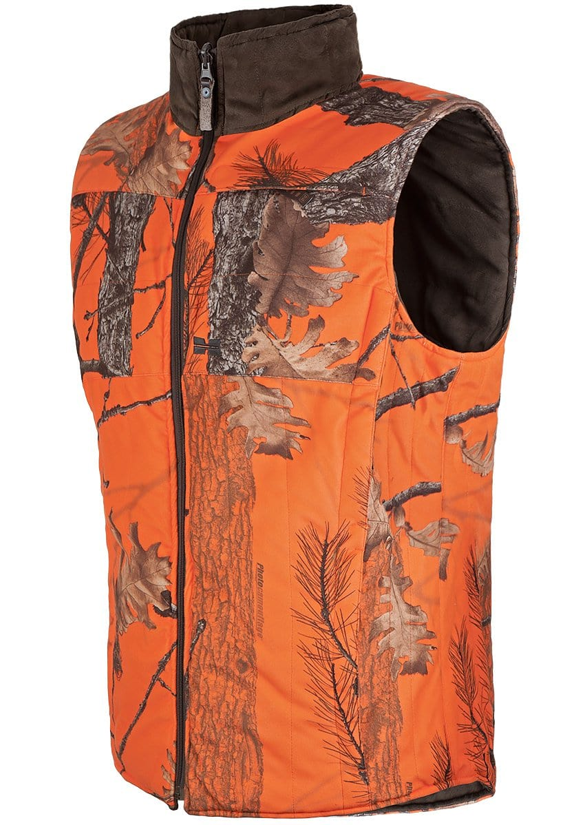 Winter Hunting Reversa Vest - Mens Windproof Gear Hillman®