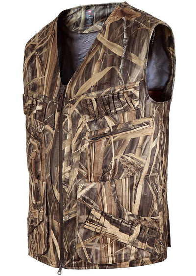 Waterfowl Camo Birder Hunting Vest - Mens Bird Hunting Waterfowl Clothing Hillman®
