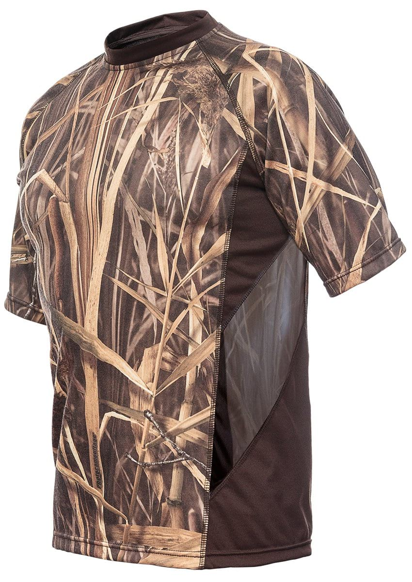 Mens Ventilated Hunting T-Shirt Short Sleeve - Summer Hunting Gear Hillman®