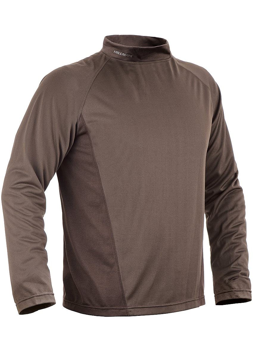 Mens Heatmax Hunting T-Shirt Long Sleeve - Heating System Apparel By Hillman®