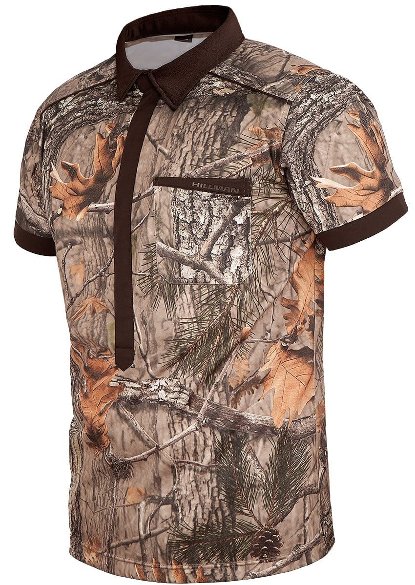 Hunting Stretchshirt Magnetic Short Sleeve - Mens Summer Hunting Shirts Hillman®