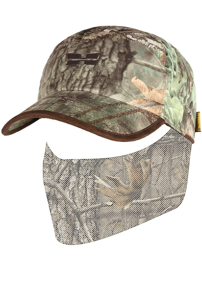 Green Camouflage Autumn Reversible Hunting Hat - Mens Spring Hunting Gear by Hillman®