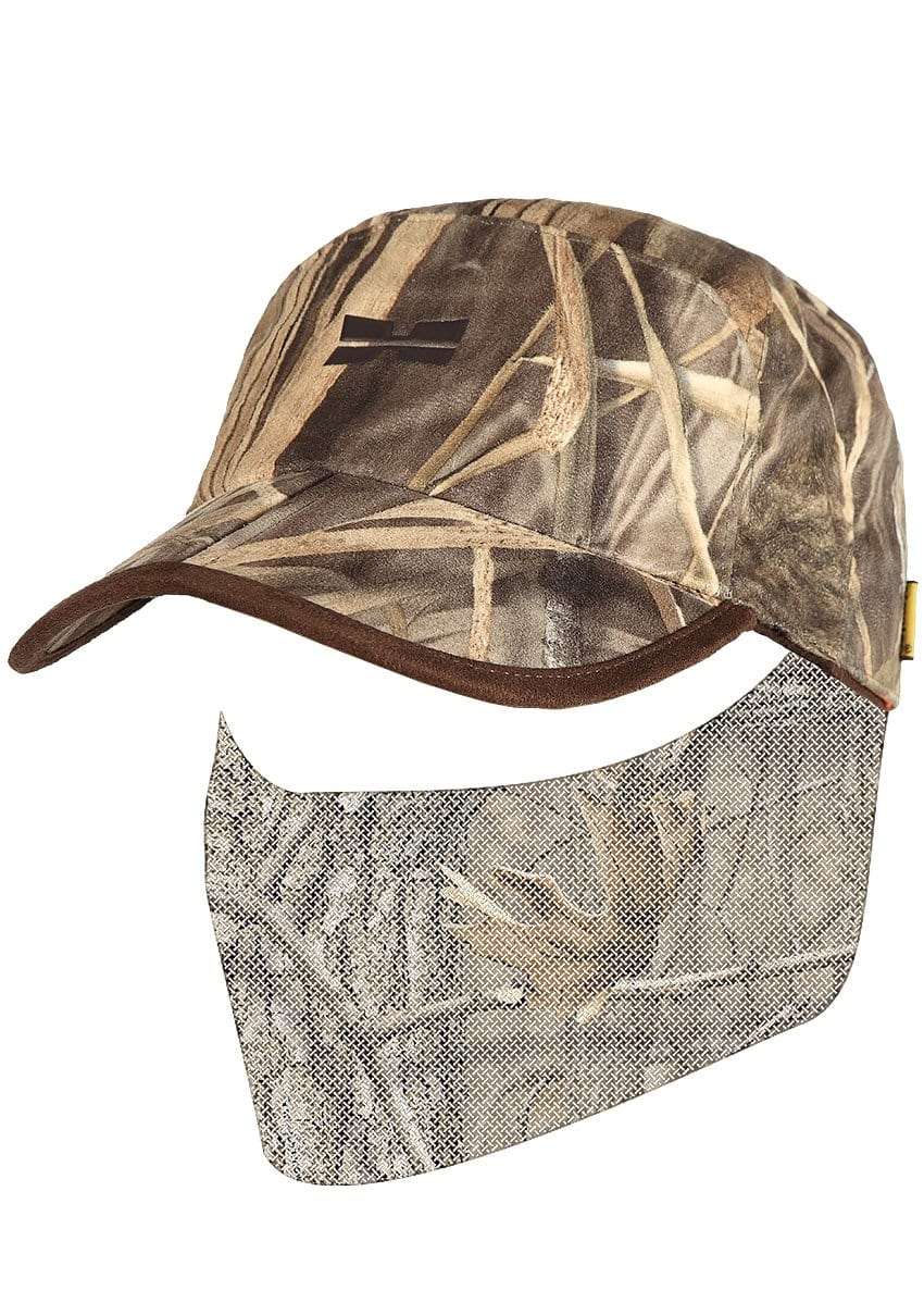 Bird Camo Autumn Reversible Hunting Hat - Mens Waterfowl Hunting Gear by Hillman®