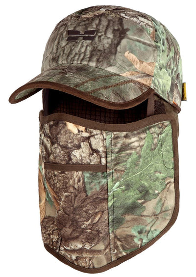 Green Camo Mens Waterproof Hunting Hat Mask - Hunting Apparel for Men by Hillman®