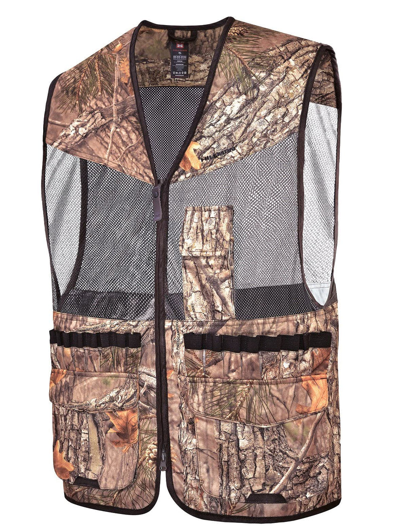 Mens Summer Camo Hunting Air Vest - Hillman® Hunting Summer Vests