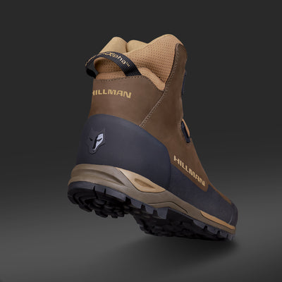 Hunting shoes waterproof outdoor boots Hillman Alpha mid cut