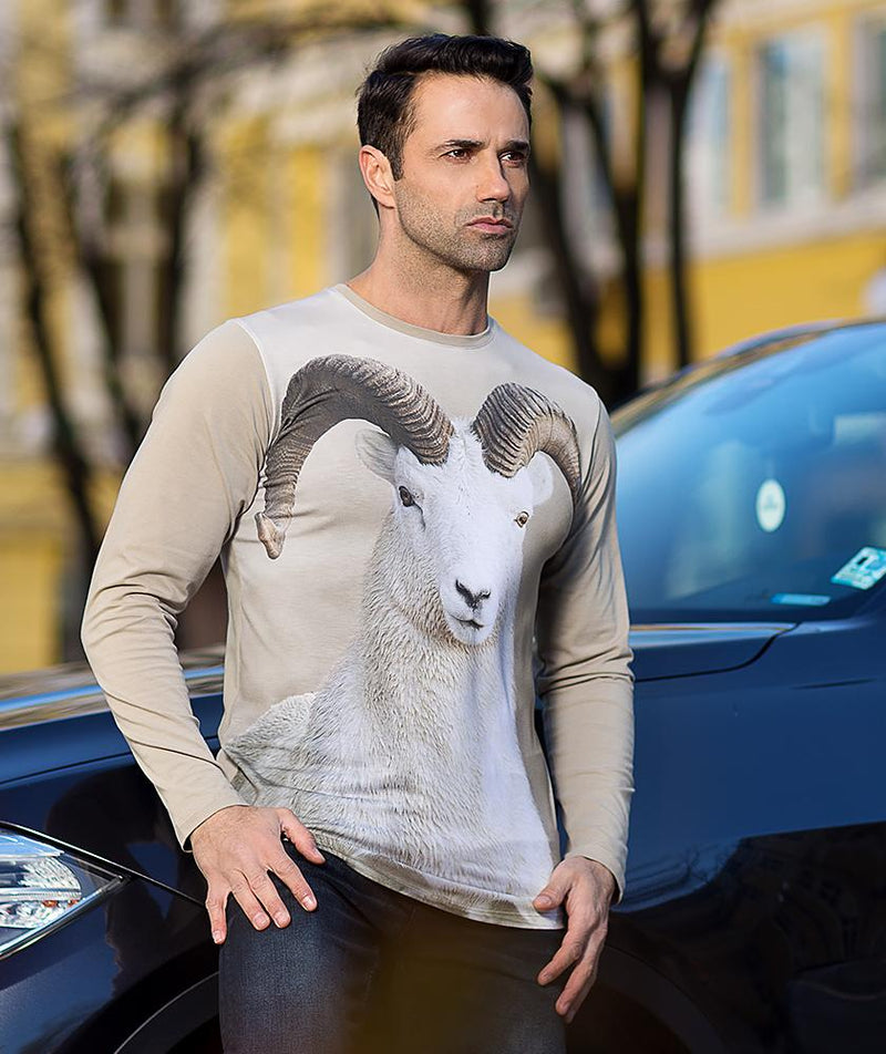 Dall Sheep T-Shirt - Long Sleeve