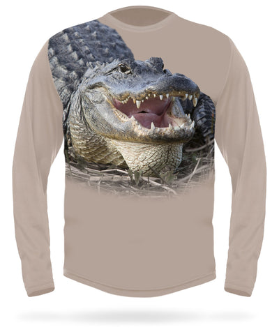ALLIGATOR T-shirt Long sleeve - HILLMAN® hunting gear