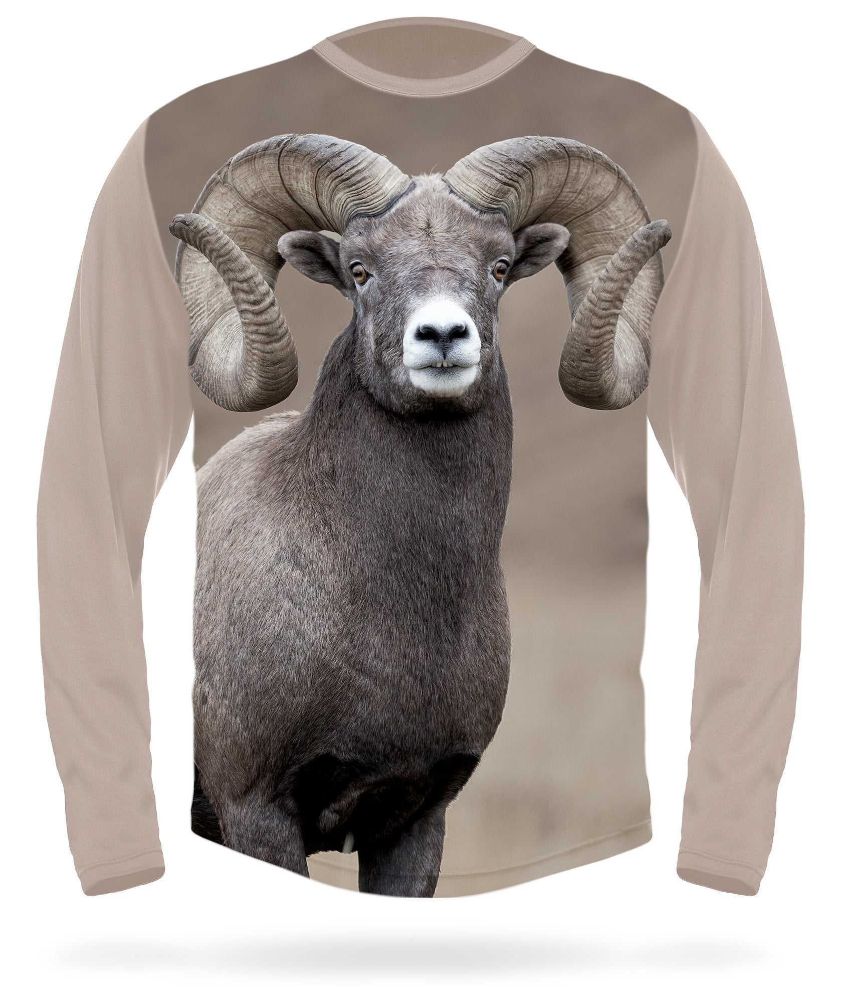 Bighorn Sheep T-Shirt - Long Sleeve