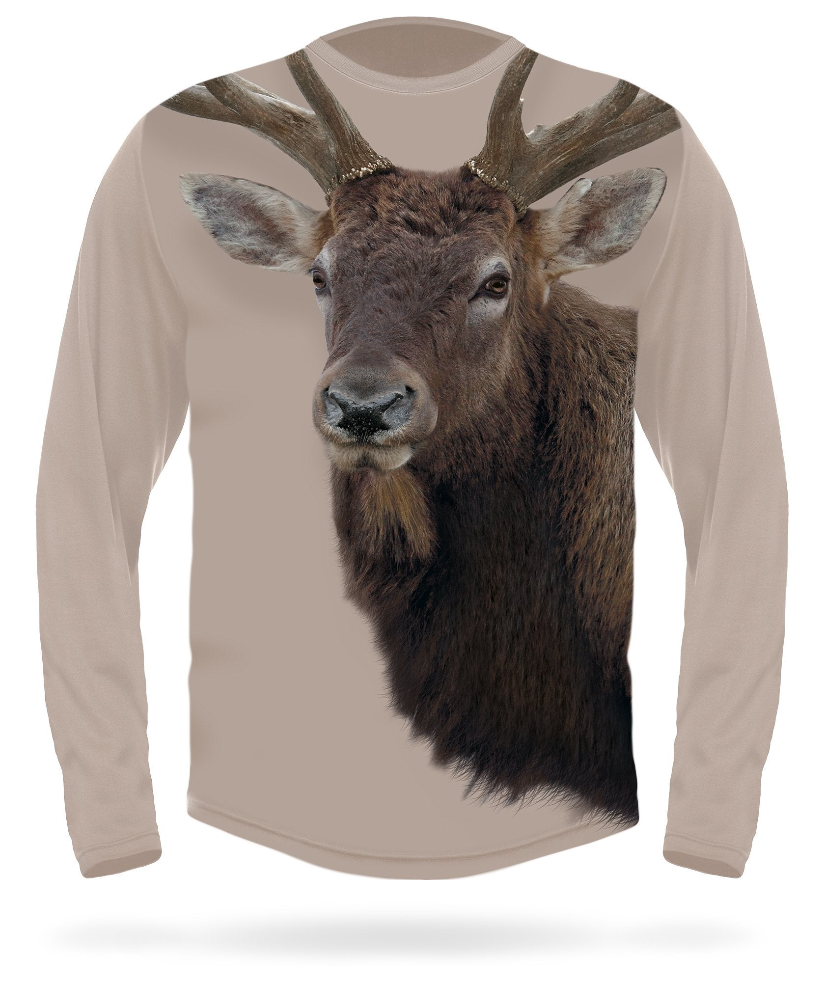 Rocky Mountain Elk T-Shirt - Long sleeve