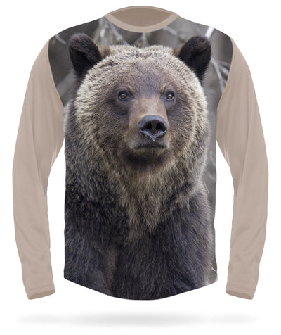 Grizzly T-shirt Long Sleeve - HILLMAN® hunting gear