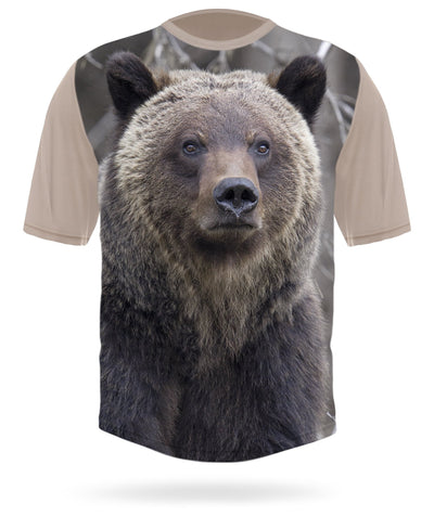 Grizzly T-shirt Short Sleeve - HILLMAN® hunting gear