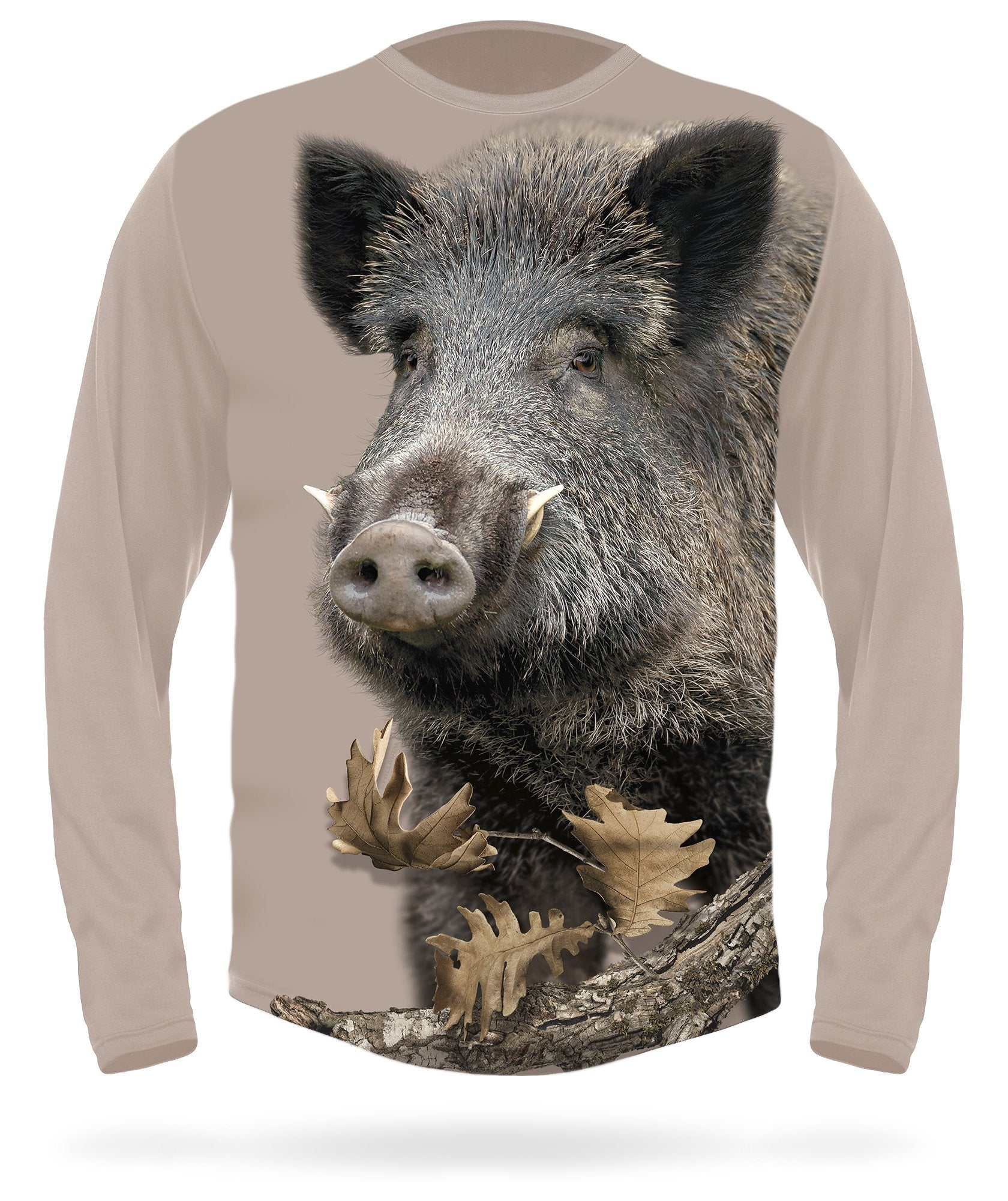 Wild Boar T-shirt long sleeve by HILLMAN® hunting gear