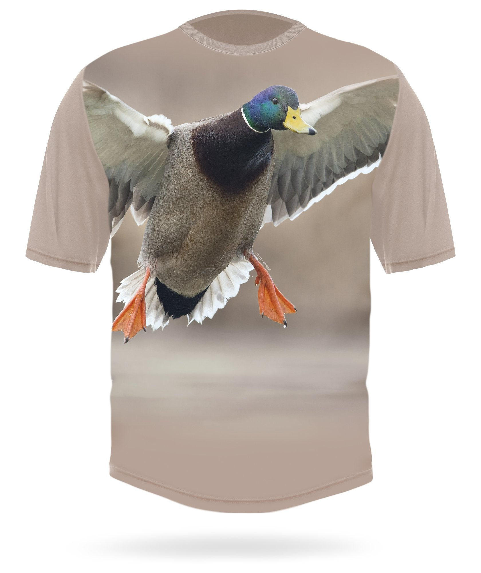Mallard T-shirt Landing Short sleeve by HILLMAN®