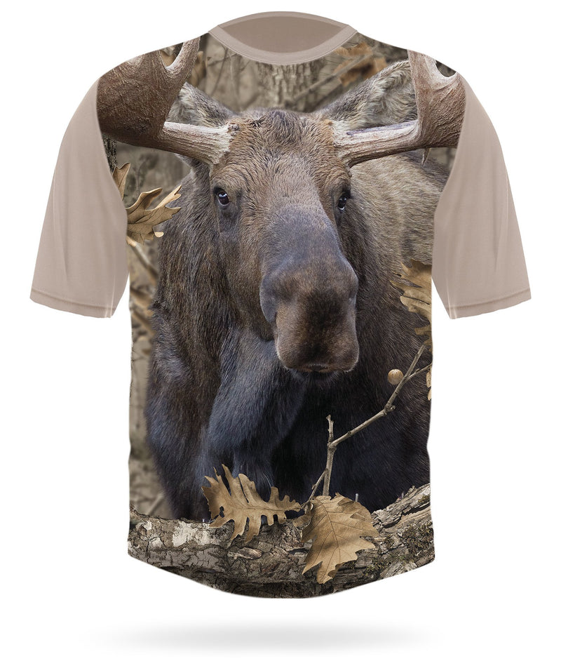 Moose T-Shirt - Short Sleeve
