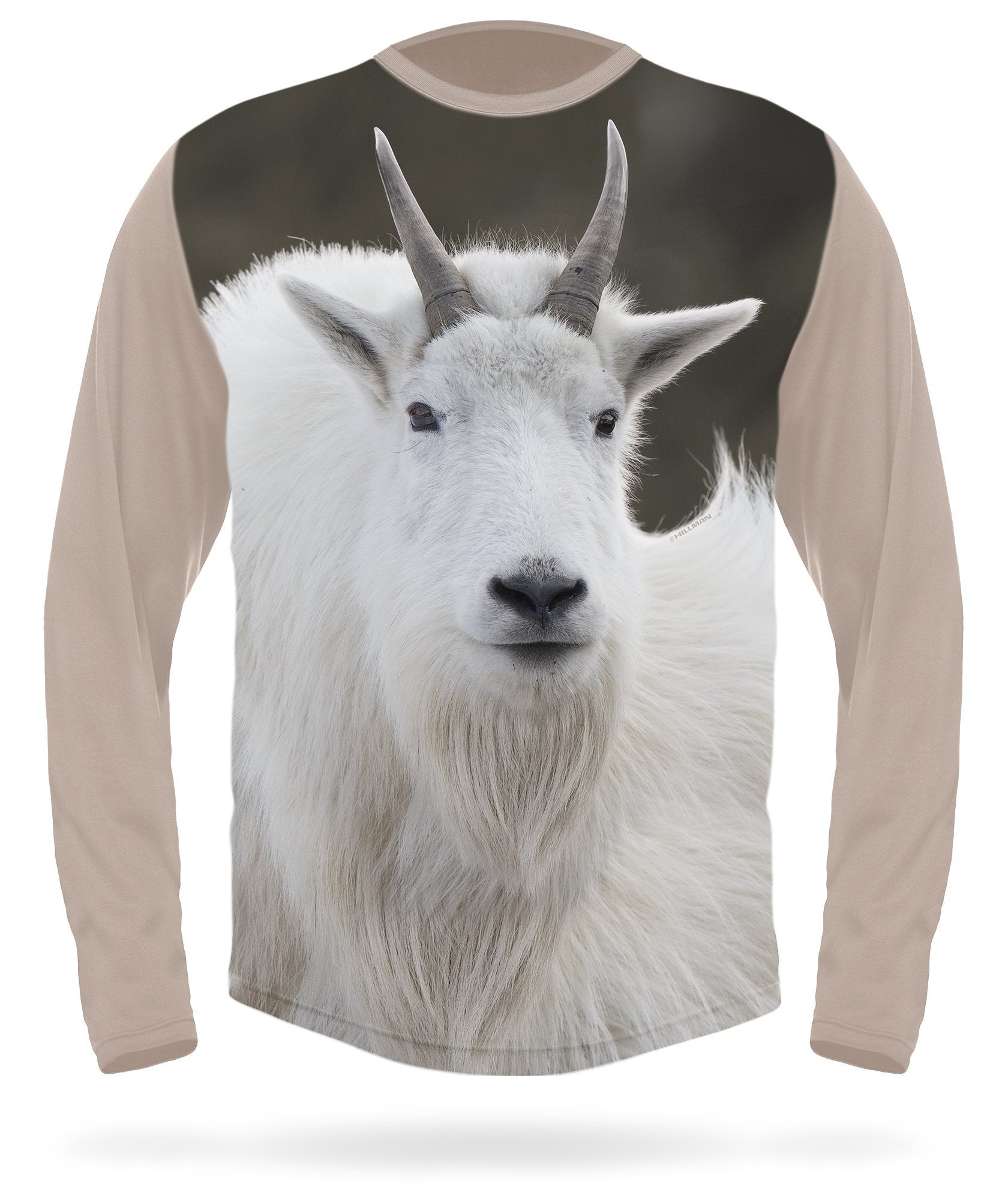 Mountain Goat T-Shirt - Long Sleeve
