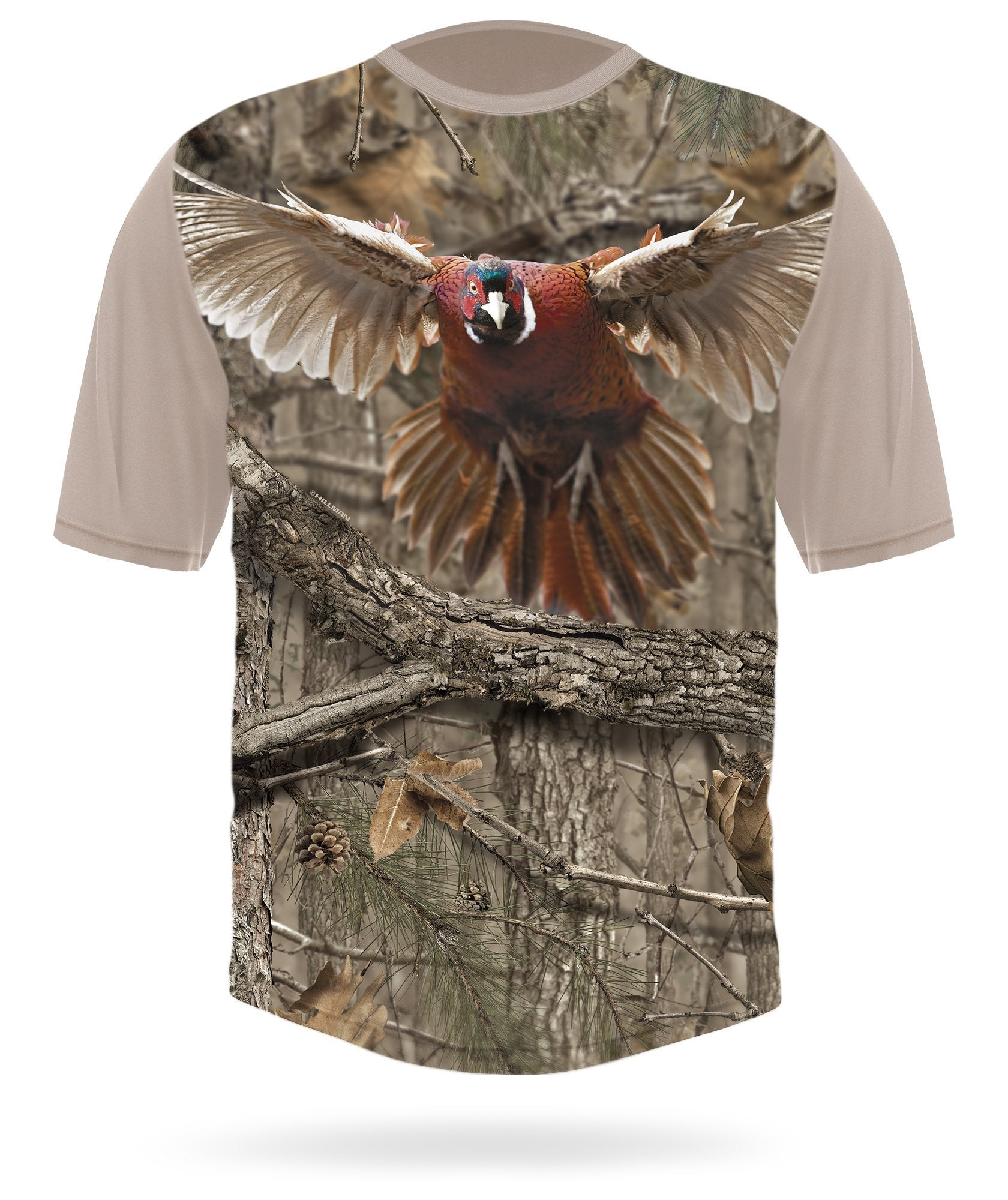 Pheasant t-shirt short sleeve camo - HILLMAN® hunting gear