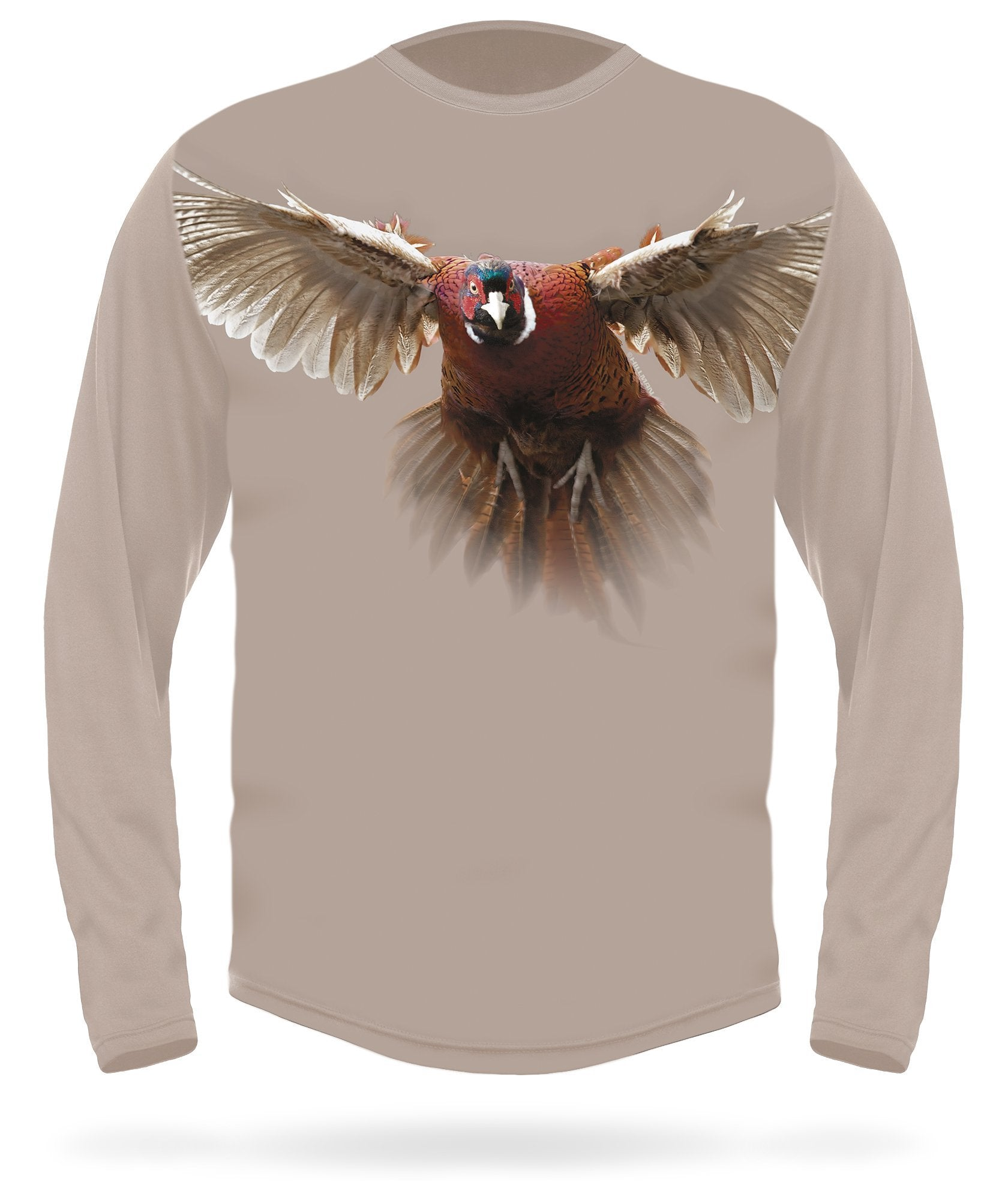 Pheasant T-shirt long sleeve - HILLMAN® hunting gear