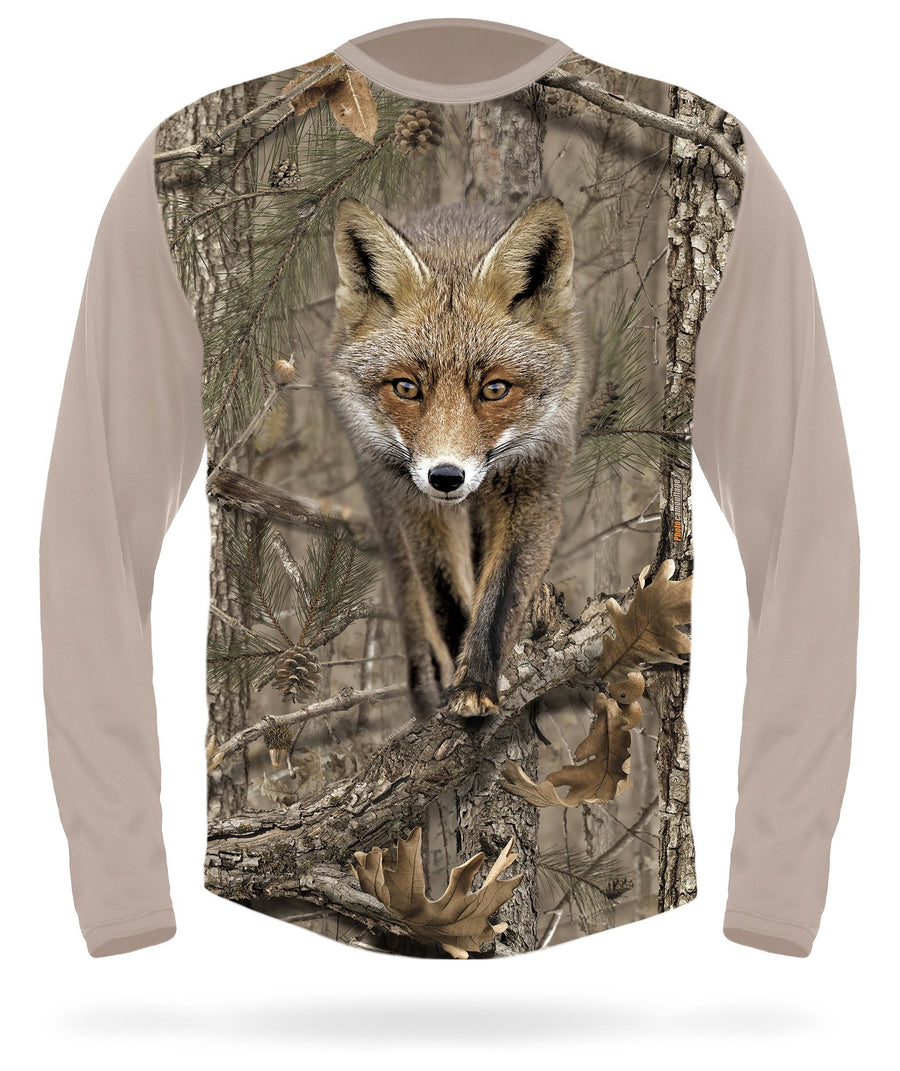 Red Fox T-Shirt - Long Sleeve
