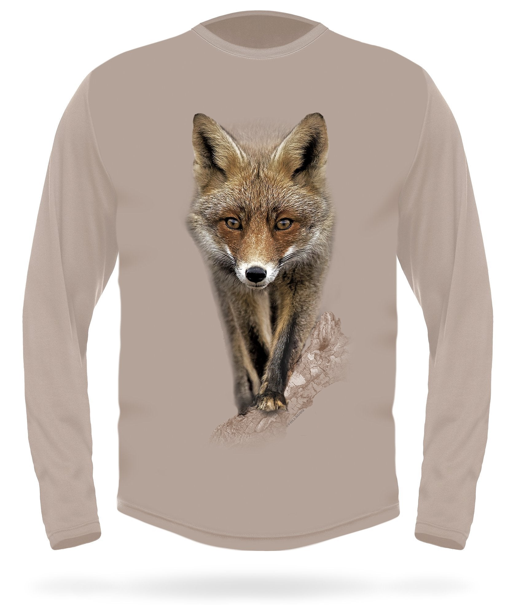 Red Fox T-shirt long sleeve -  HILLMAN® hunting gear