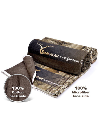Towel-70x140cm Towel WHITE FRONTED GOOSE 3D Gamewear - 7007-Hillman-Hunting-Shop